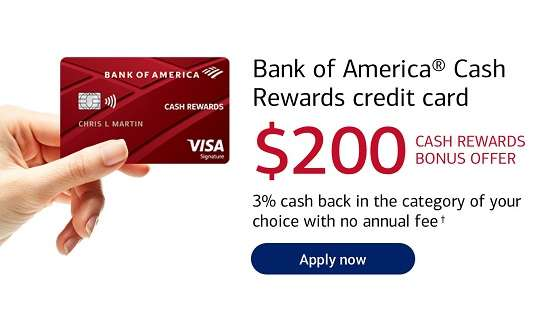 Bank of America Cash Rewards Offer 24-Month Interest Free