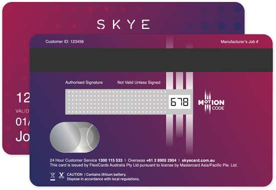 Skye MasterCard 24-Month Interest Free