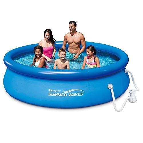 Summer Waves 10ft x 30in Quick Set Inflatable Above Ground Pool