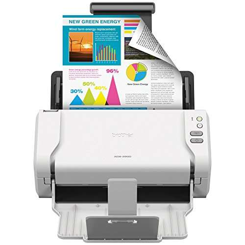Brother ADS-2200 multiple document scanner