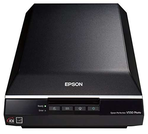 Epson Perfection V550 multiple page scanner
