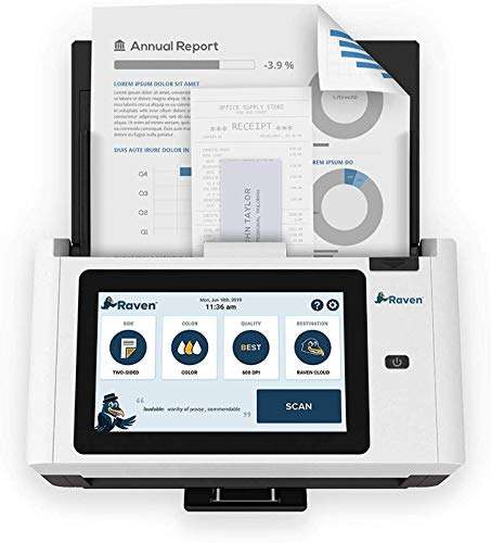 Raven Pro Document and Quickbook scanner