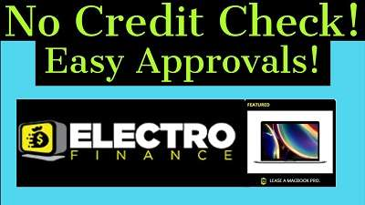 Electro Finance For Rent To Own MacBook No Credit Check
