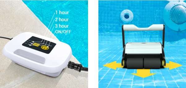 Key Features Of paxcess automatic pool cleaner