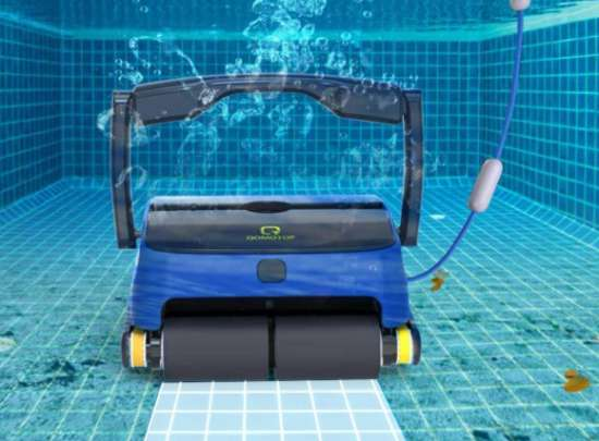 Qomotop Robotic Pool Cleaner Review
