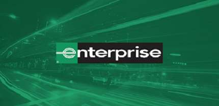 Enterprise rental car company does not require a credit card