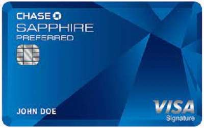 Chase Sapphire Preferred Credit Card From Chase