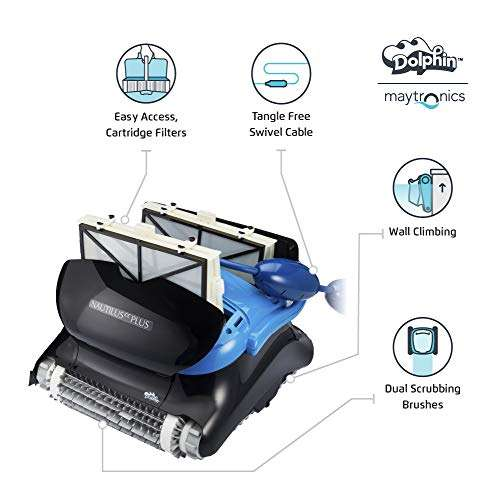 Key Features Of Dolphin Nautilus CC Plus Pool Cleaner